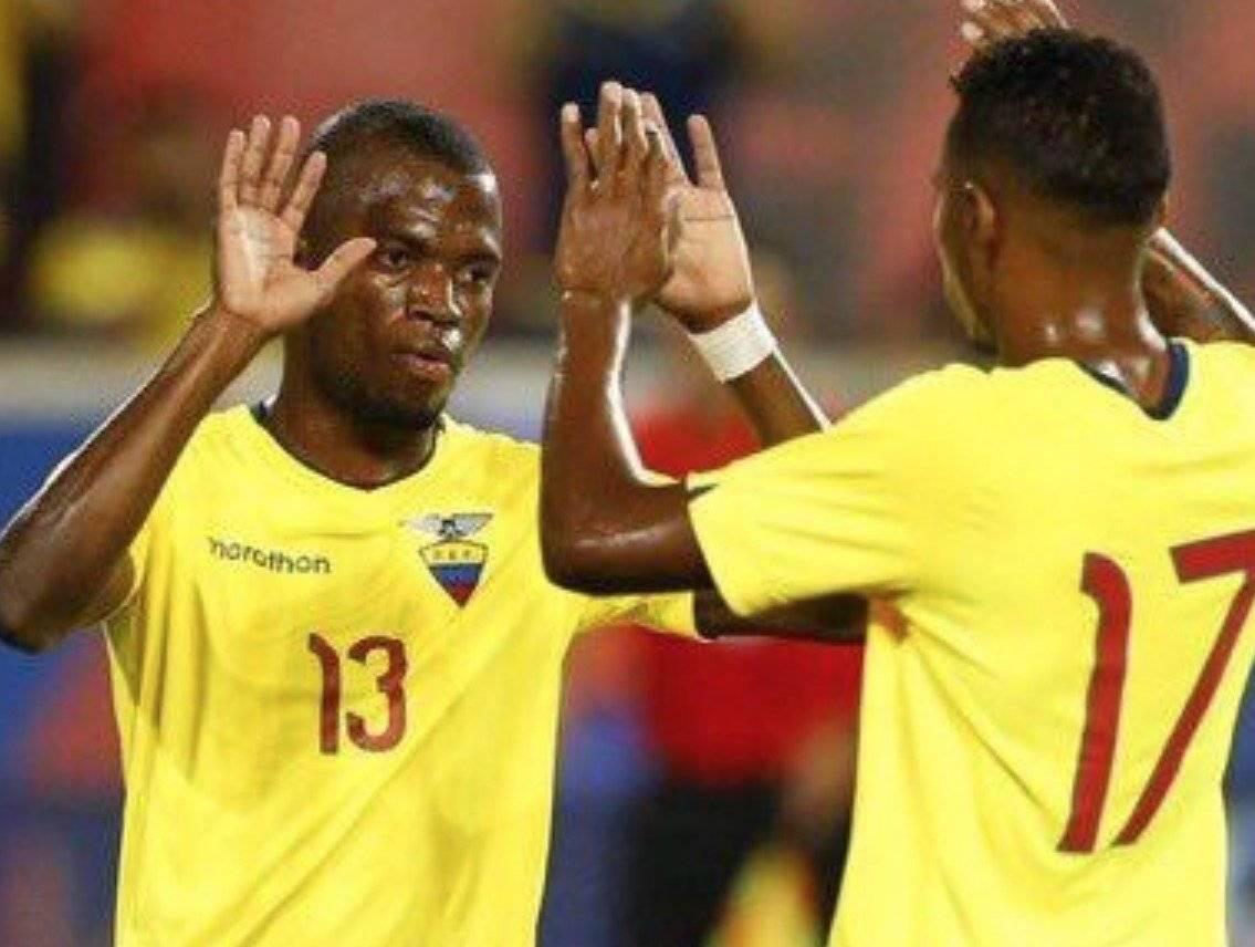 Enner Valencia es baja en la Selección de Ecuador