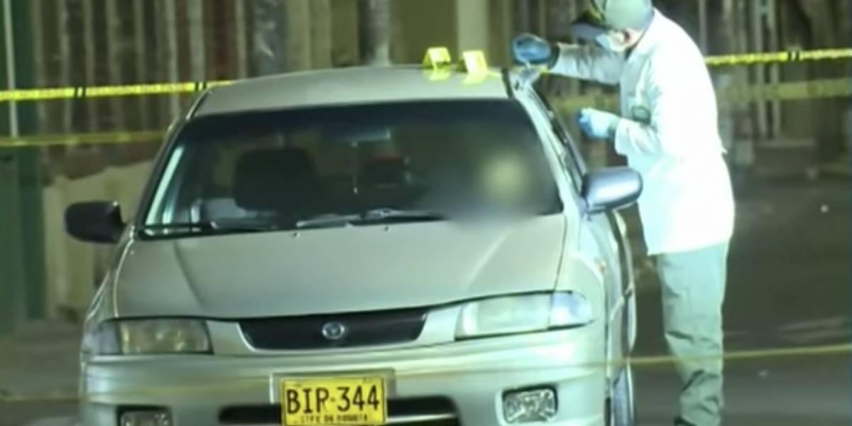 Policía iba a requisar a conductor en Bogotá y lo encontró muerto