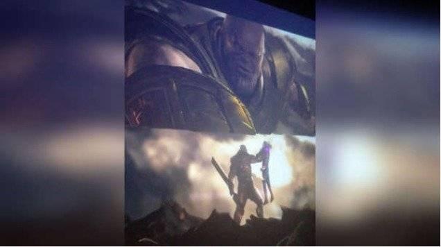 Pela de Thanos con Capitana Marvel