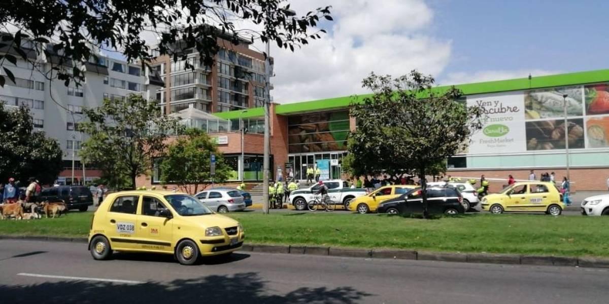 (Video) Sicario asesina a un hombre en la 116 con 15, en Bogotá