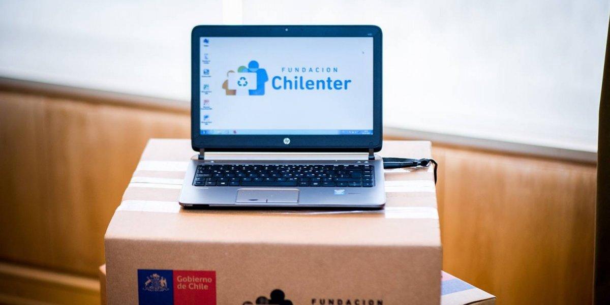 Chilenter llegaráa los 100.000 computadores entregados a colegios durante 2019