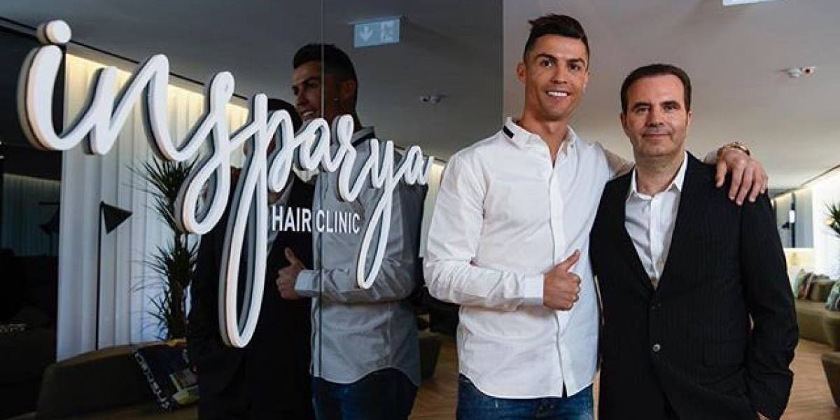 Cristiano Ronaldo apertura una clínica de transplantes capilares en Madrid