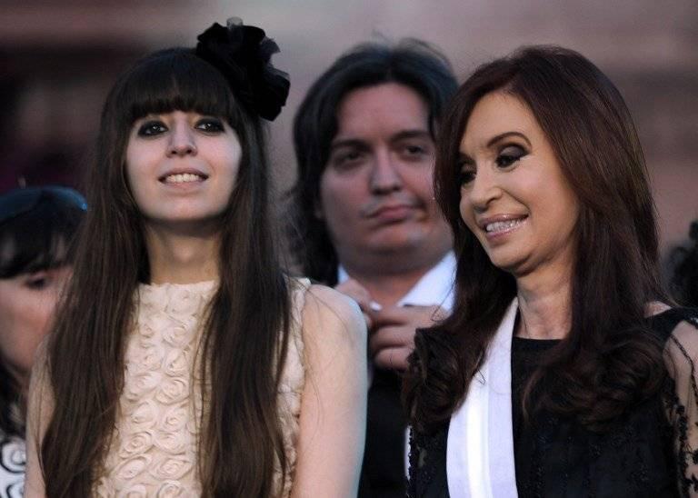 Florencia y Cristina Fernández