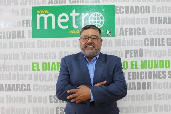Edmundo Barros busca la Concejalía con experiencia en el trabajo por Quito