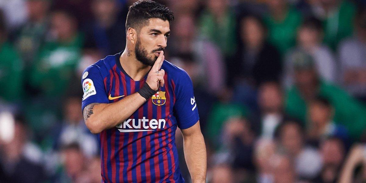 Problemas para Valverde: Luis Suárez acabó lesionado