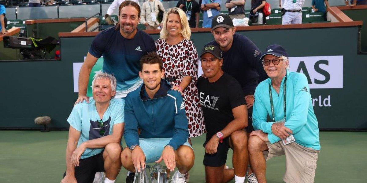 """""""¿El mejor entrenador del momento?"""": el mundo del tenis se rinde ante la nueva """"hazaña"""" de Massú junto a Thiem"""