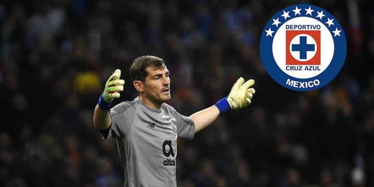 El equipo mexicano favorito de Iker Casillas es: ¡Cruz Azul!