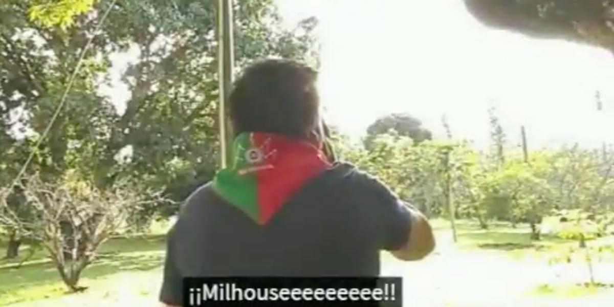 Indígenas hacen el #Milhousechallenge para pedir a Duque que vaya al Cauca