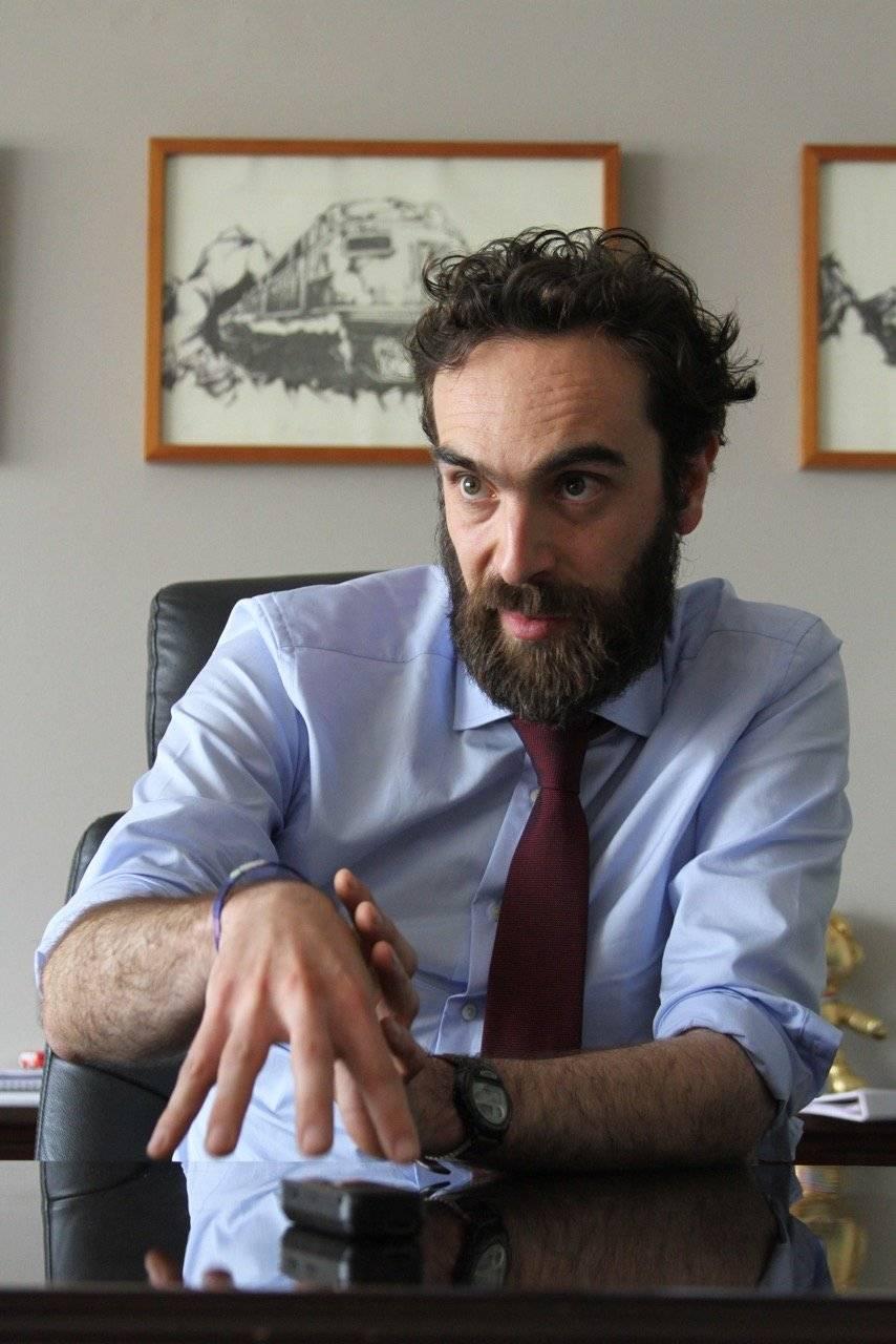 El Secretario habló con Publimetro. Foto: Nicolás Corte