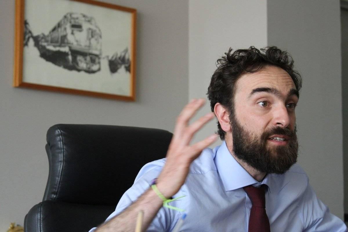 El Secretario de Movilidad asegura que Grin no se ha acercado. Foto: Nicolás Corte