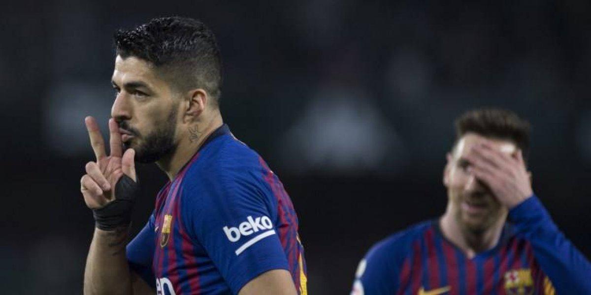 Luis Suárez enciende las alarmas por una lesión