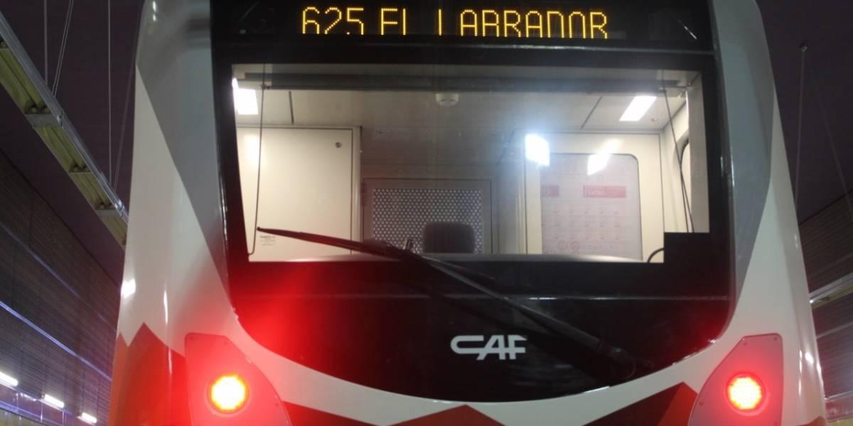 Tren del Metro de Quito completó la ruta Quitumbe- El Labrador con energía propia
