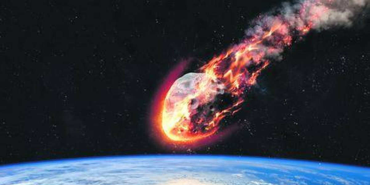 Nasa: potente meteorito a punto de tocar la superficie