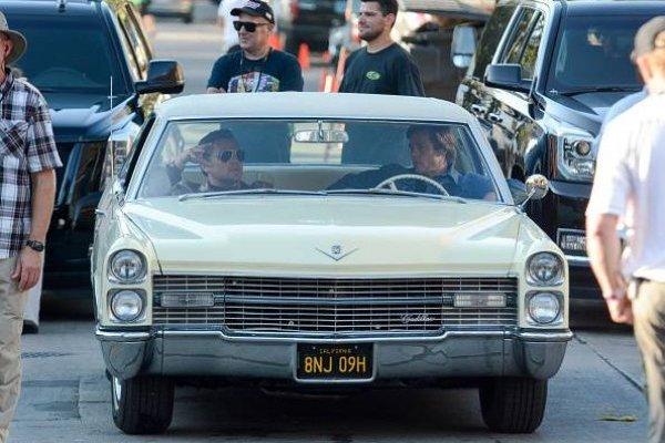 Once Upon a Time in Hollywood: Este es el aspecto de Brad Pitt y Leonardo DiCaprio