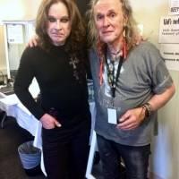 Bernie Tormé y Ozzy Osbourne