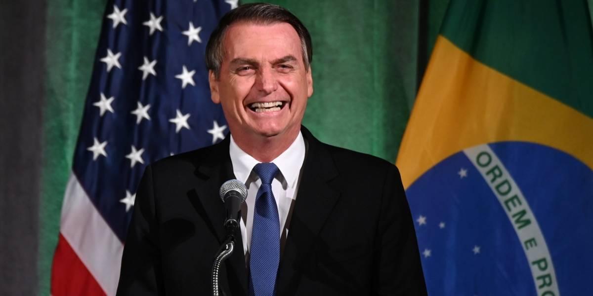 Em discurso, Bolsonaro elogia a imprensa e diz esperar que 'pequenas diferenças fiquem para trás'