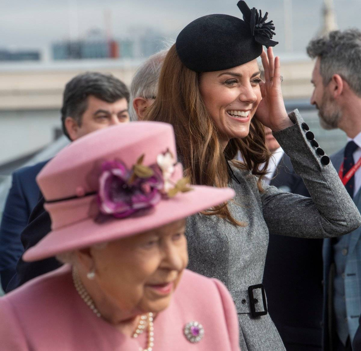 Kate Middleton e rainha Elizabeth