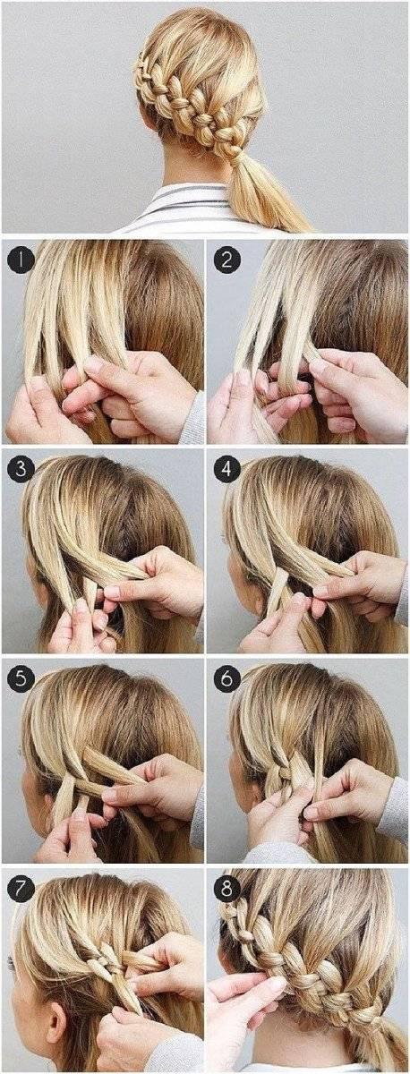 peinados de trenzas