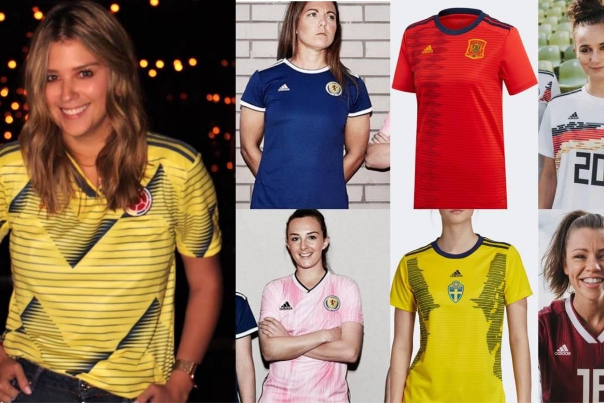 cortina Estación de policía Modernizar  FOTOS | Razón por la que adidas no hizo camiseta especial para la selección  Colombia femenina para 2019 (Camisetas de selecciones femeninas)