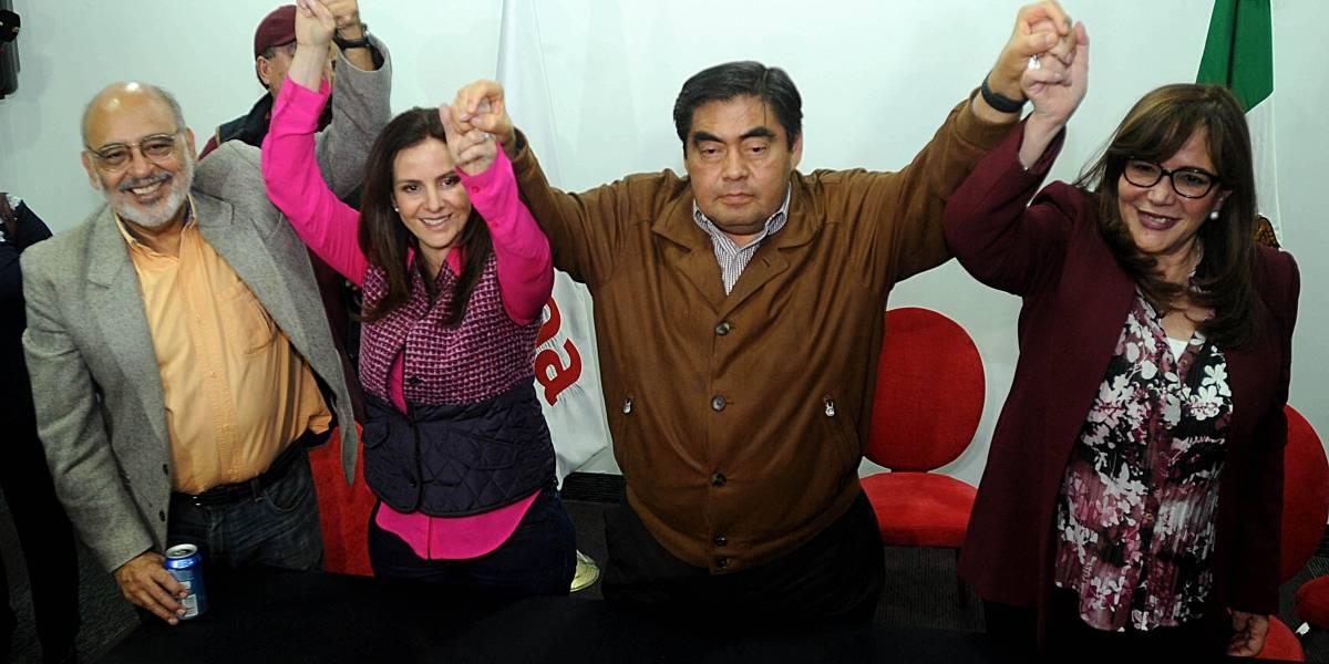 Miguel Barbosa, candidato de Morena a gubernatura de Puebla