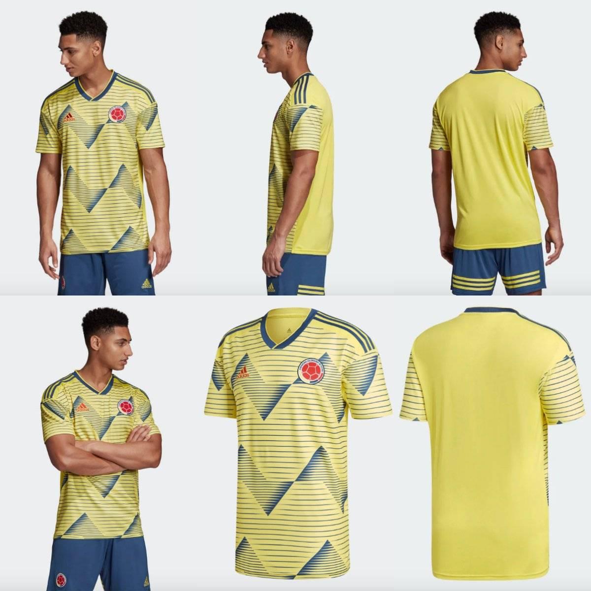 1. significado del diseño del uniforme de selección Colombia para 2019
