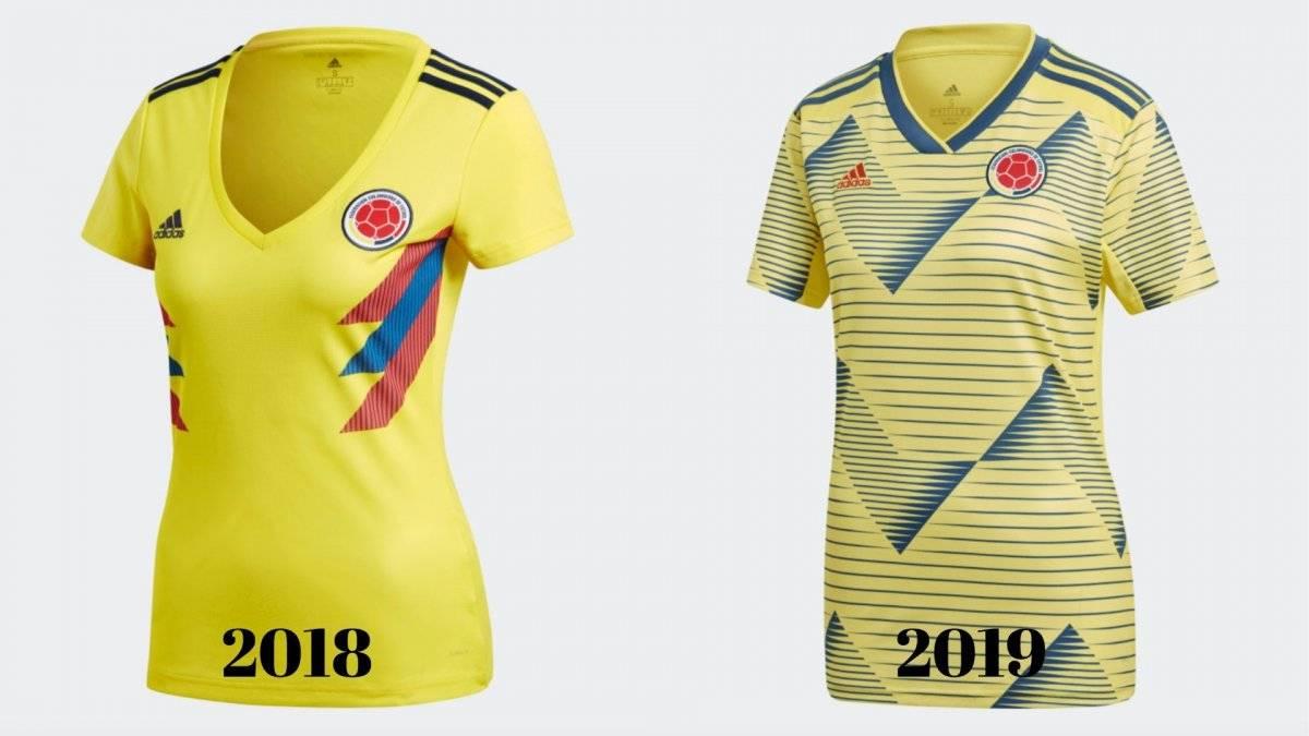 camisetas seleccion femeninaColombia