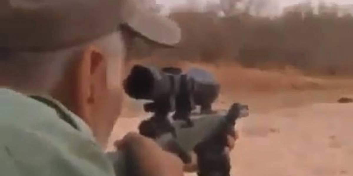 Hombre asesina a león que dormía tras dispararle en tres ocasiones: lo miró agonizar y celebró cuando murió