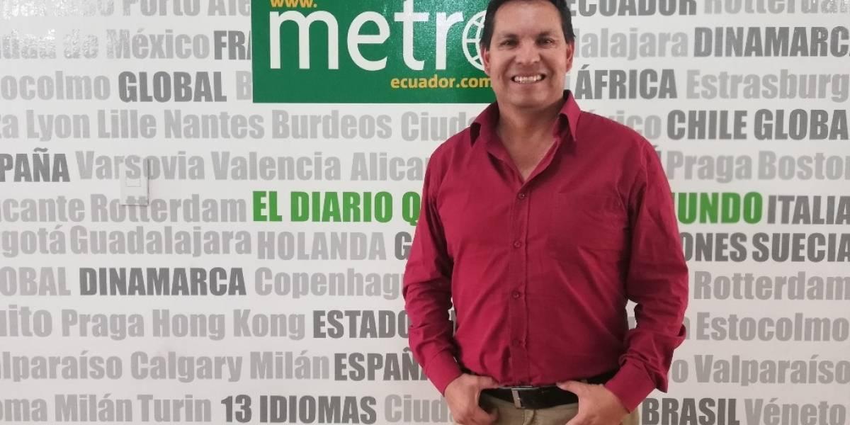 """Andrés Benavides quiere """"cero corrupción"""" en la Alcaldía de Quito"""