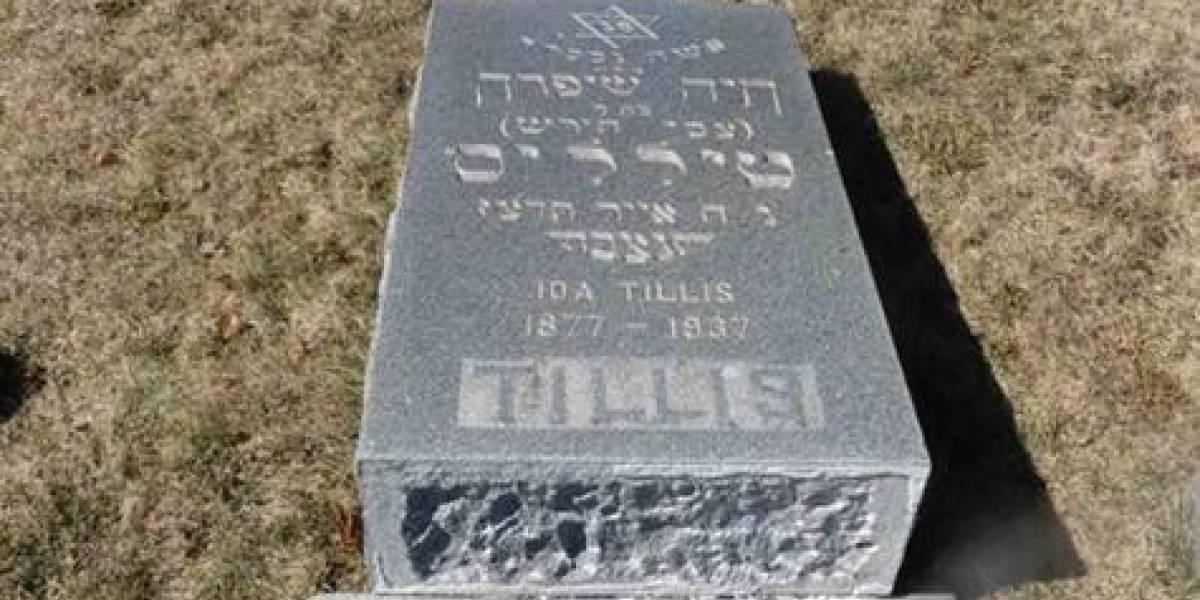 Profanan cementerio judío con mensajes antisemitas