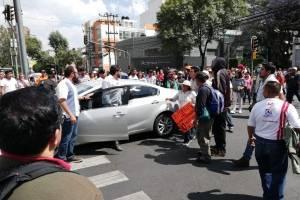 Manifestación Insurgentes