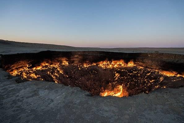 cráter de Darvaza Getty Images