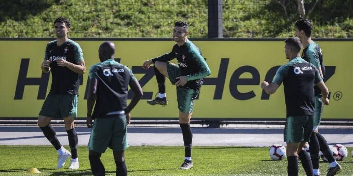 Después de nueve meses Cristiano Ronaldo reaparece con Portugal