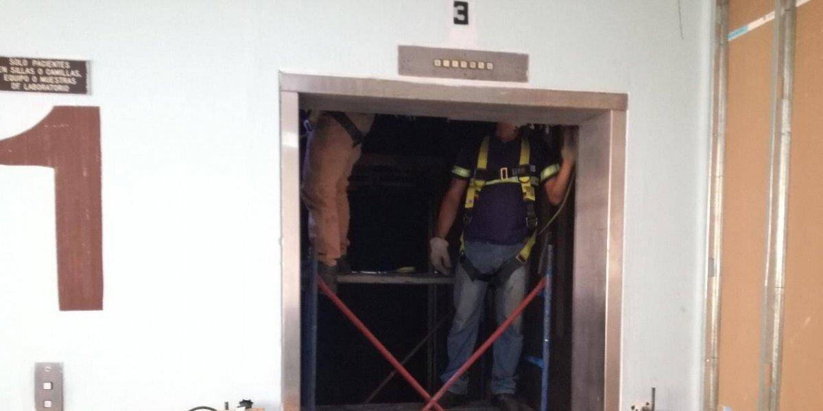 Primeros elevadores nuevos del San Juan de Dios podrían estar listos en abril o mayo