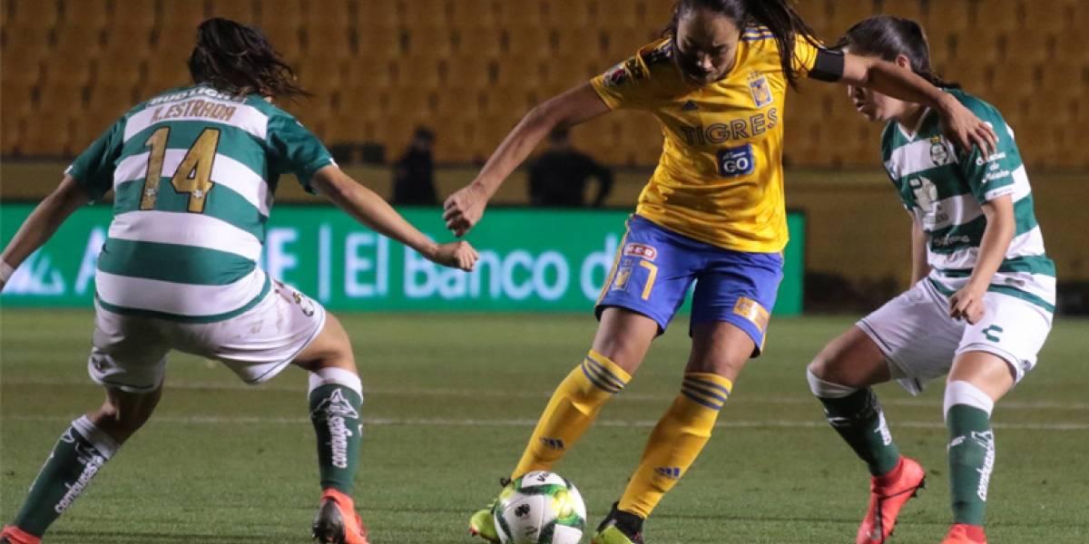 Doblega Tigres femenil a Santos