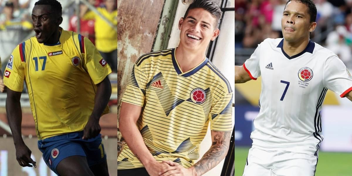 Las camisetas más polémicas en la historia de la Selección Colombia
