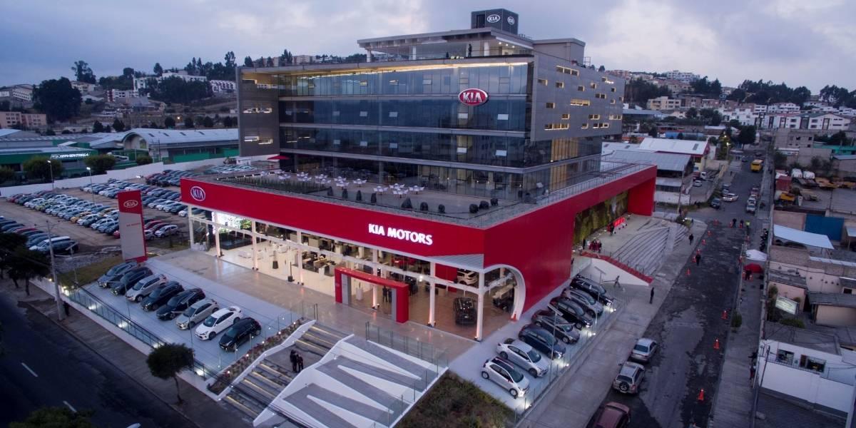 Kia del Ecuador es líder en la región con el concesionario más grande de Latinoamérica