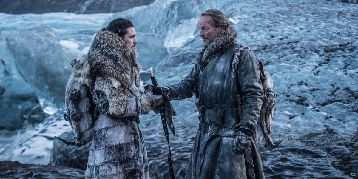"Ser Jorah Mormont sobre Jon Snow: ""Es un buen partido para Daenerys"""