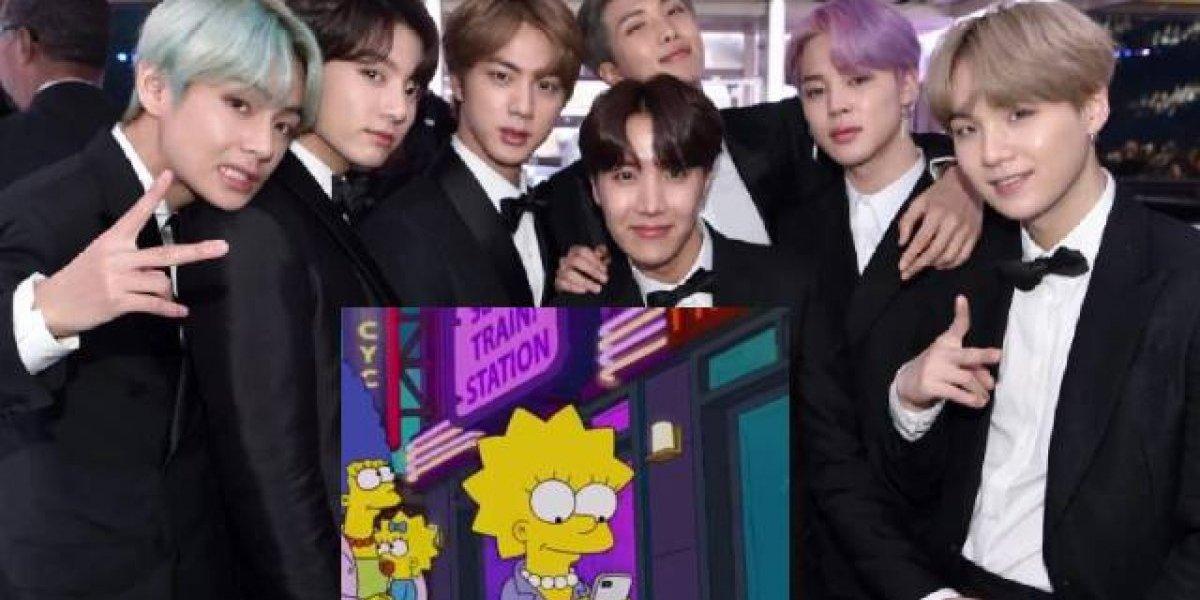 """BTS sorprende con pequeña aparición en """"Los Simpson"""""""