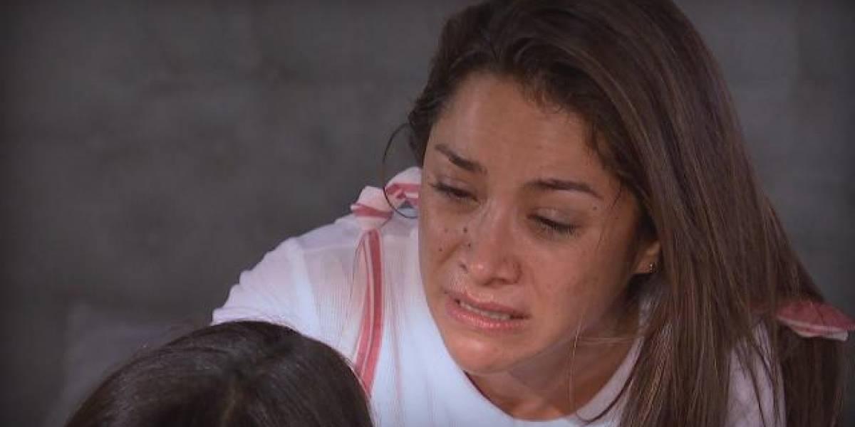 """Loreto Aravena vive día de furia durante grabaciones de """"Pacto de Sangre"""""""