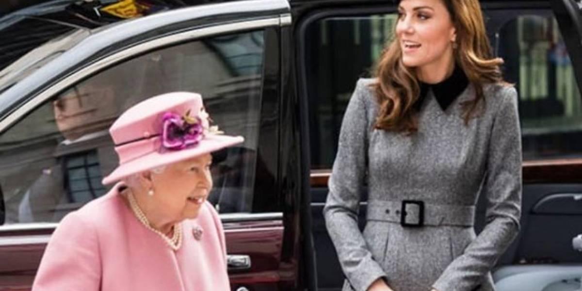 La primera de la duquesa de Cambridge: Kate Middleton realiza salida oficial con la reina Isabel mucho después de Meghan Markle