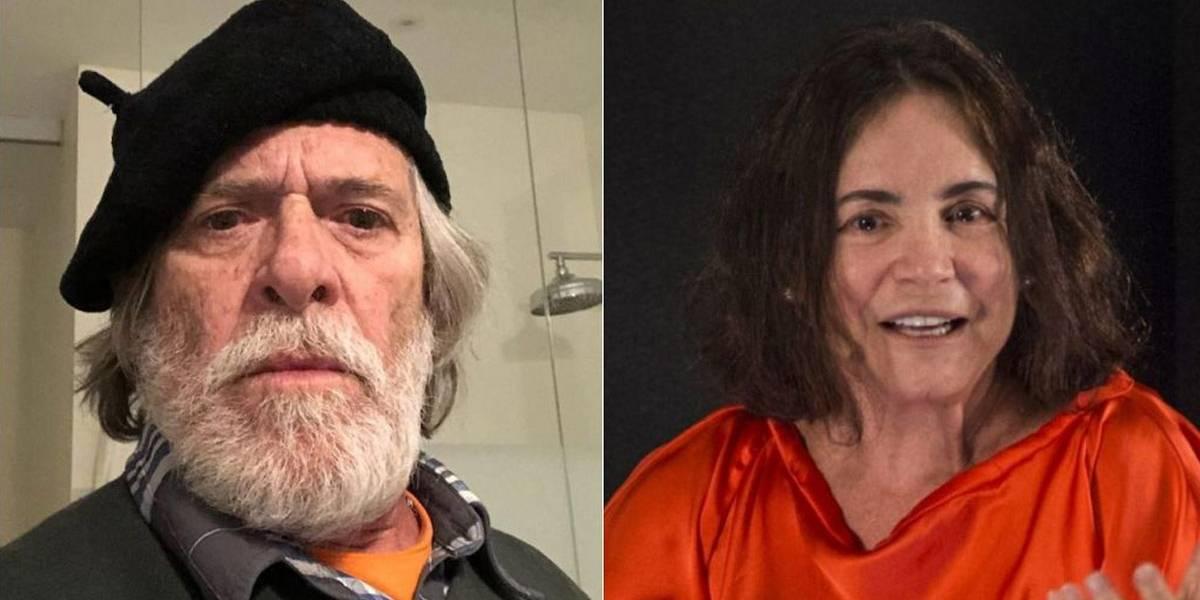 José de Abreu volta a alfinetar Regina Duarte: 'Tenho medo'