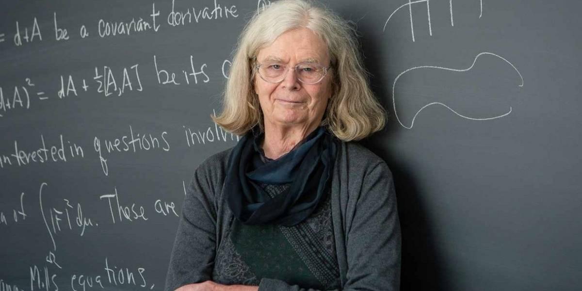 """Karen Uhlenbeck es la primera mujer en ganar el considerado """"Nobel"""" de las matemáticas"""