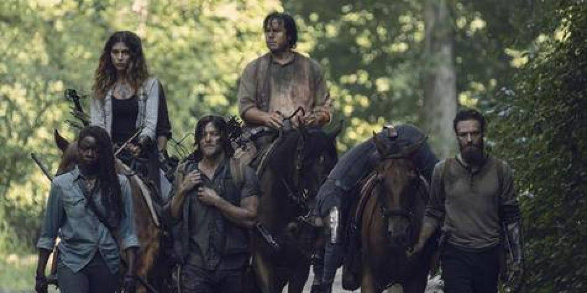 """Nadia Hilker: """"'The Walking Dead' retrata lo que está pasando en el mundo"""""""