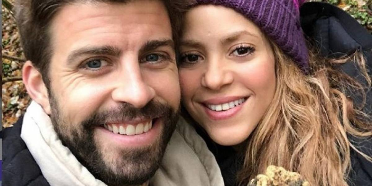 Un tuit de Shakira pondría en evidencia que se casó en secreto con Piqué