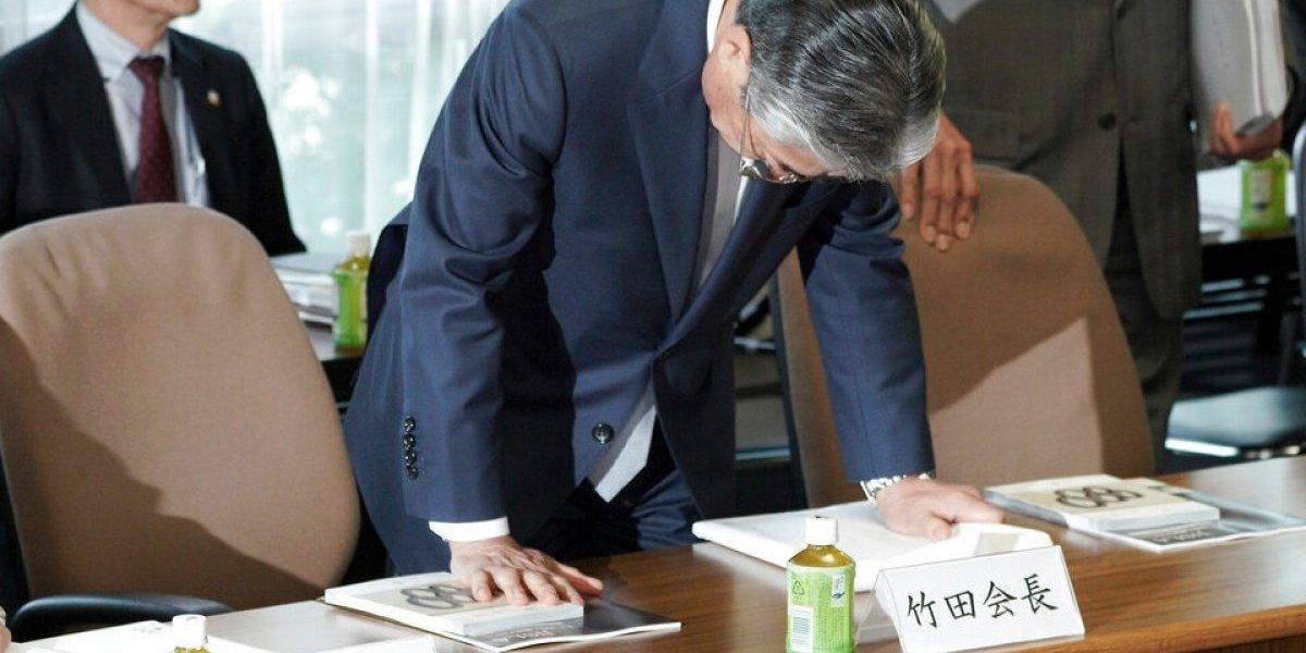 Presidente del Comité Olímpico de Japón renuncia