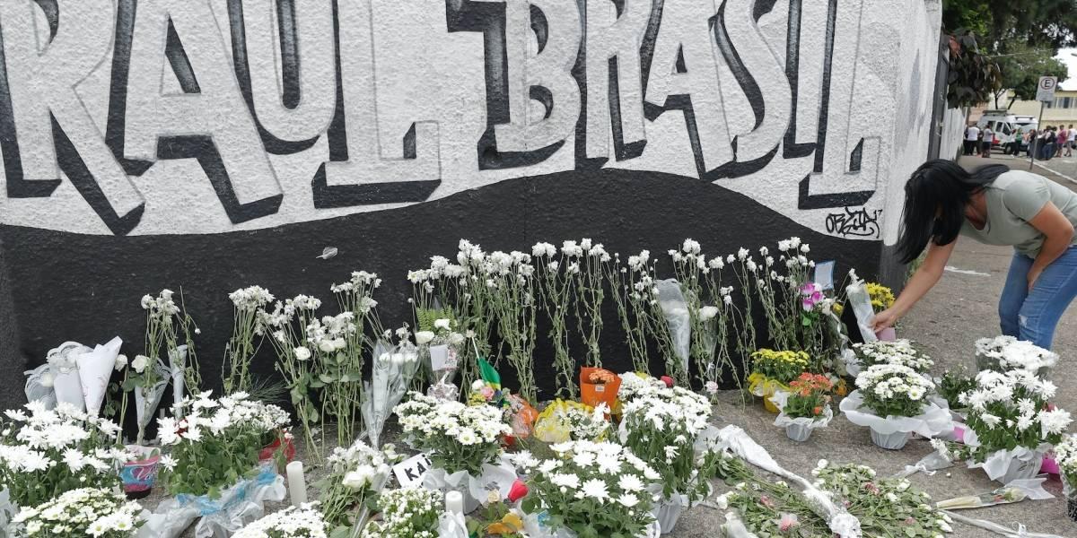 Arrestan a tercer sospechoso de matanza en escuela en Brasil