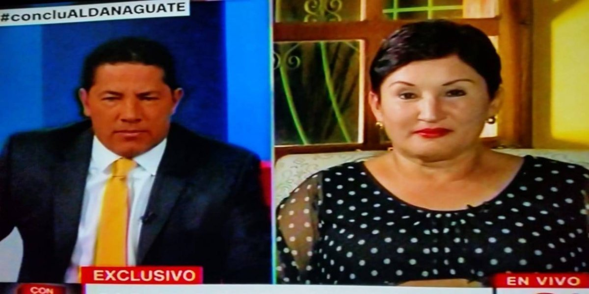 """Thelma Aldana: """"El pacto de corruptos está encabezado por Jimmy Morales"""""""