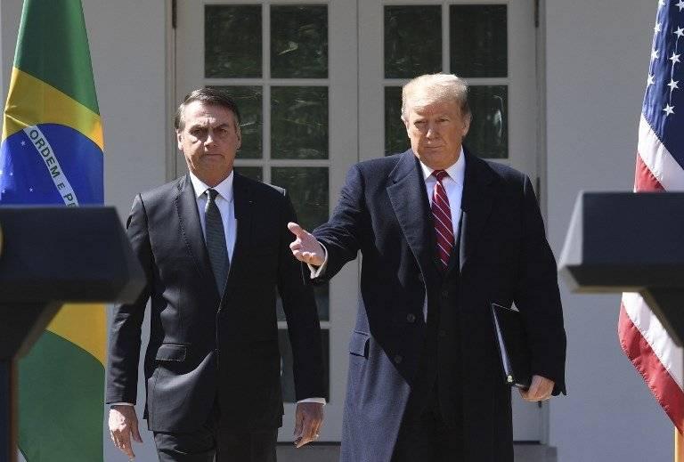 Jair Bolsonaro y Donald Trump