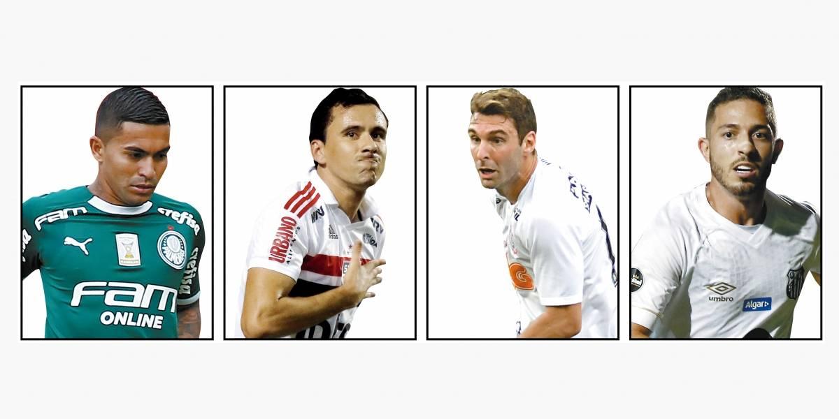 Campeonato Paulista: a situação de Corinthians, Palmeiras, Santos e São Paulo para a última rodada