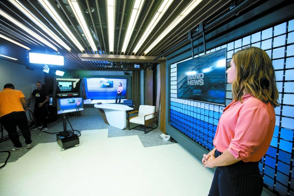 Estúdio da BandNews TV
